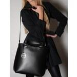 Černá kabelka Pure London Aria
