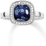 Thomas Sabo Ring blau TR2029-050-1-50