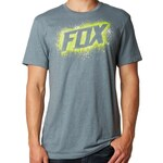 FOX Tričko Fox Side Winder heather slate