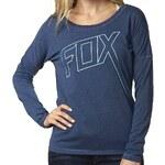 FOX Tričko Fox Ultimatum Tech heather electric blue