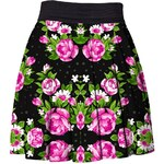 Mr. GUGU & Miss GO Skirt Pink Roses
