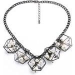 Lesara Halskette mit 3D-Anhänger