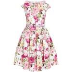 Retro šaty Lindy Bop Mini Belina Pink Floral