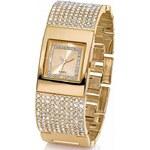 bpc bonprix collection Lesklé kovové hodinky s ozdobnými kamínky bonprix