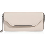 Salvatore Ferragamo Leather Kandy Clutch