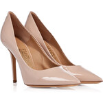Salvatore Ferragamo Patent Leather Susi Pumps