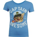 David And Goliath T Shirt Ladies, cptn awesome