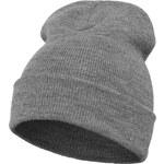 Flexfit Heavyweight Long Beanie Men Hat light grey