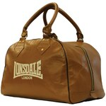 Lonsdale Authentic Classic Leather Holdall, vintage brown