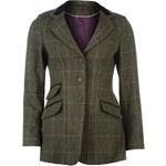 Shires Hunt Show Jacket Ladies, green/pink