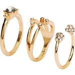 H&M Balení: 3 prsteny