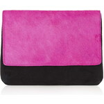 Topshop Pony Flap Clutch Bag
