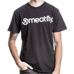 MEATFLY Tričko Meatfly Identity black