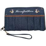 HORSEFEATHERS Horsefeathers peněženka Gadget (denim)
