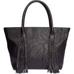 H&M Nákupní taška s třásněmi