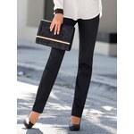Venca Rovné kalhoty s vysokým pasem černá