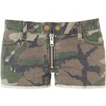 TEXTILE Elizabeth and James Jeans Shorts olive camo