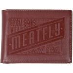 MEATFLY Peněženka Meatfly Cabin brown leather
