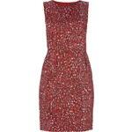 Esprit Collection Kleid mit Leopardenmuster