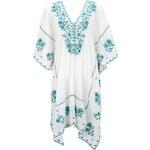 Star Mela Kaftan-Kleid aus Baumwolle mit Stickereien