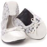 Scholl Pocket Ballerina 37/38 bílá