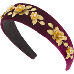 Topshop **Wide Metal Flower Alice Band by Her Curious Nature