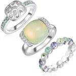 Lilly & Chloe Dámský prsten 3ks 60452110