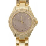 Oasis Ladies B1494 Analogue Watch, gold