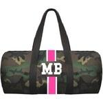 Mia Bag Army taška (unisex) - válec růžový pás, Barva ružová