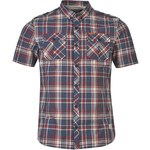 Košile s krátkým rukávem Firetrap Blackseal pán. červená S