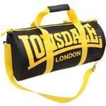 Sportovní taška Lonsdale černá/žlutá