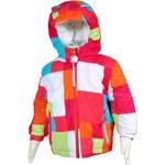 Bugga PD911 bunda dívčí zimní růžová 92