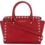 Kabelka Michael Kors Selma stud leather medium red