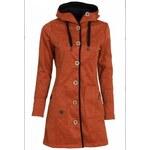 WOOX Woolshell Ladies´ Button Orange, oranžová