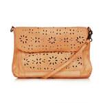 Topshop Leather Daisy Crossbody Bag
