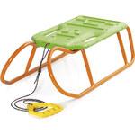 Prosperplast Sáňky Little Beetle, oranžovo-zelené