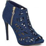 GUESS GUESS Margot Caged Heels - navy blue