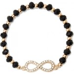 GUESS GUESS Infinity Stretch Bracelet - black