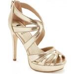 GUESS GUESS Gionata Cutout Heels - gold