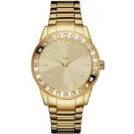 GUESS GUESS Gold-Tone Crystal Watch - no color