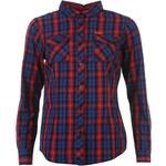 Košile Lee Cooper dám. modrá/červená XS