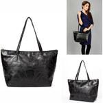 Lesara Shopping-Bag mit Ziernähten