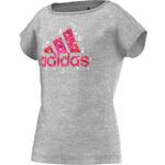 adidas Trička s krátkým rukávem Dětské Tee-shirt Wardrobe Junior adidas