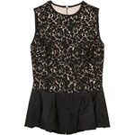 Michael Kors Collection Top schwarz