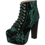 Jeffrey Campbell LITA High Heel Stiefelette grün