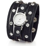bpc bonprix collection Široké náramkové hodinky se štrasovými kamínky bonprix