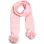 Esprit chunky knit scarf with glittering threads