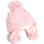 Esprit chunky knit hat with glittering threads
