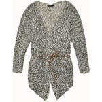 Maison Scotch Throw on longer length knitted cardigan