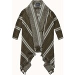 Maison Scotch Warm wool blend poncho